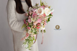 粉色系列_絲花球159