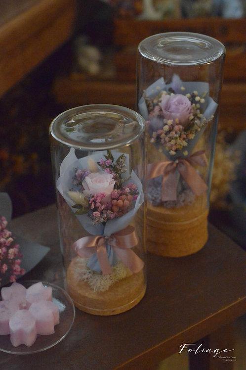 保鮮小瓶花 Preserved flower Gift