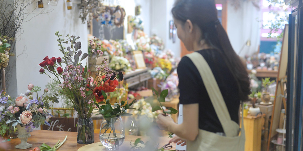 04. Vase Arrangement  鮮花瓶花插花班