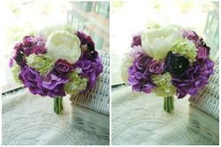 紫色系列_絲花球54