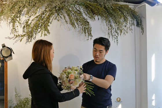 婚禮絲花球班 Wedding Faux Bouquet floral Workshop