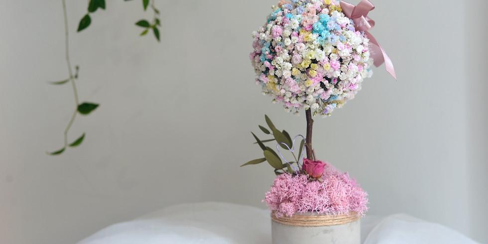 04s. 母親節呈獻: 鮮花插花(檯花) - 彩虹之樹