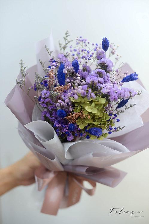 乾花花束 - 幻紫系列 ( S Size)