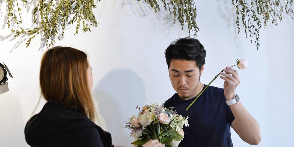 01. Artificial Wedding Bouquet 新娘花球班