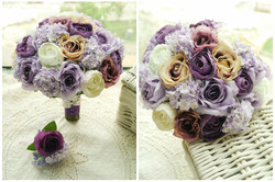 紫色系列_絲花球73