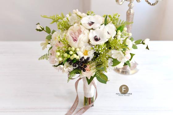 森林系 -- 婚禮絲花球