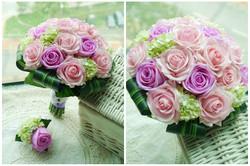 紫色系列_絲花球68