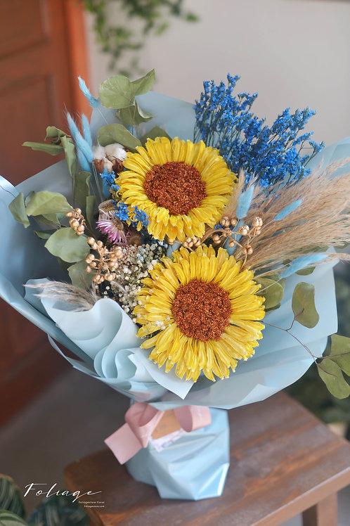 乾花花束 - Sunflower 系列 (L size)