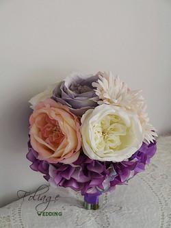 紫色系列_絲花球26