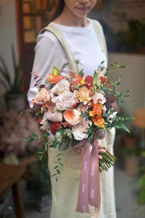 [ Fresh bouquet ]  婚禮鮮花球 Premier Bouquet