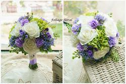 紫色系列_絲花球85