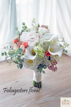 白綠色系列_絲花球11