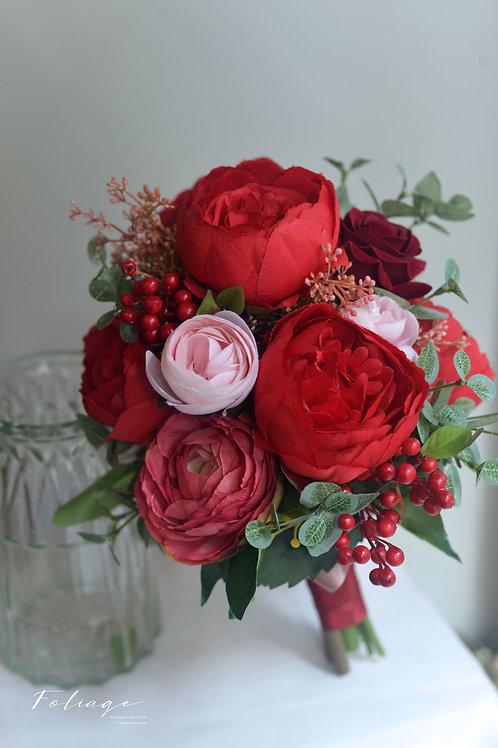 牡丹絲花球 - 中式出門花球