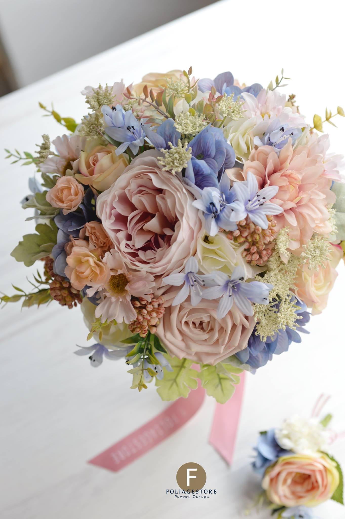 復古系列_絲花球45