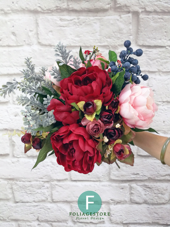 DIY your Wedding Bouquet 婚禮花球自己造
