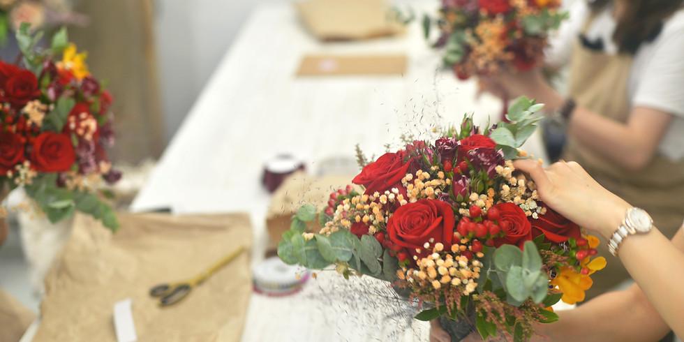 第二章- 花藝師必修中階  婚禮花藝深度鑽研