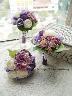 紫色系列_絲花球74