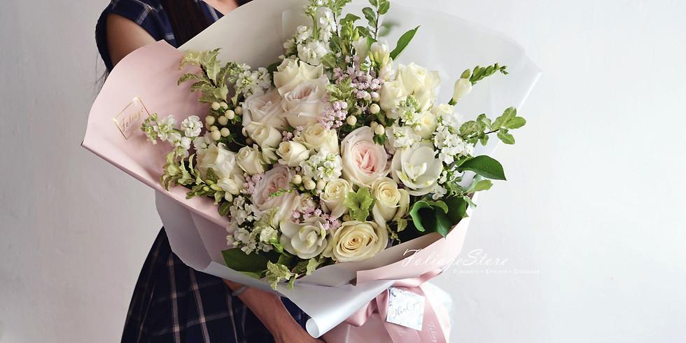 FULL 03. Fresh Gift Bouquet  鮮花束班