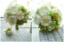 白綠色系列_絲花球23