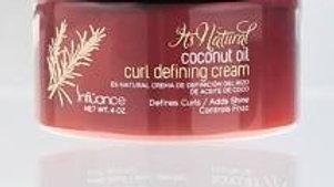 Influance It's Natural Coconut Oil Curl Defining Cream 4oz.