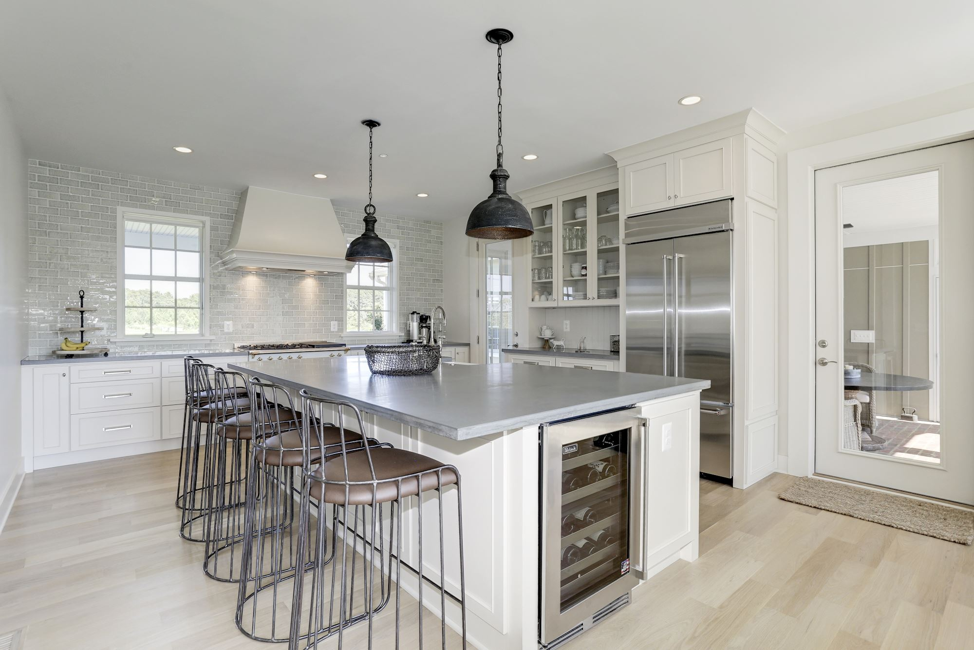 Luxury custom home, kitchen design