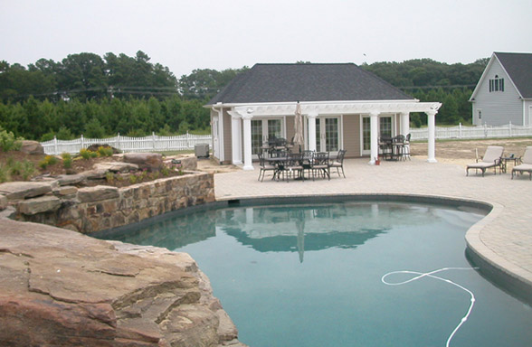 Pool House Stevensville
