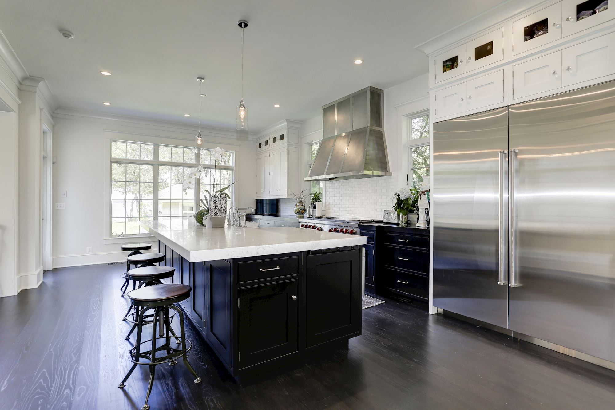 Kitchen/Annapolis custom home