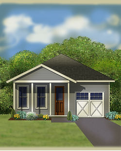 The Dodson, Beacon Poine Home, New Construction