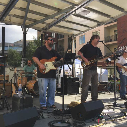 The Lackies perform at Fall For Greenville, 2017