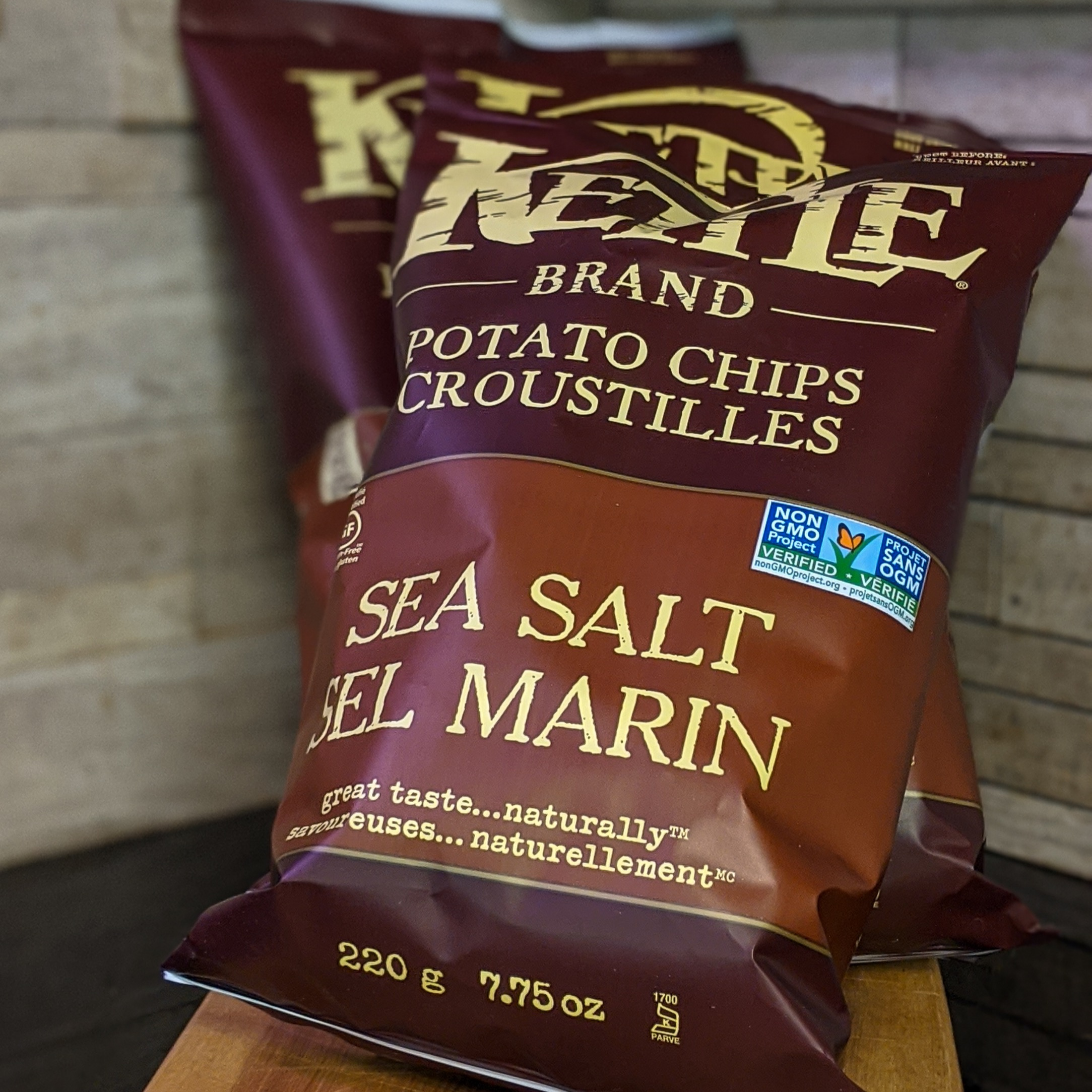 Kettle Chips - Sea Salt