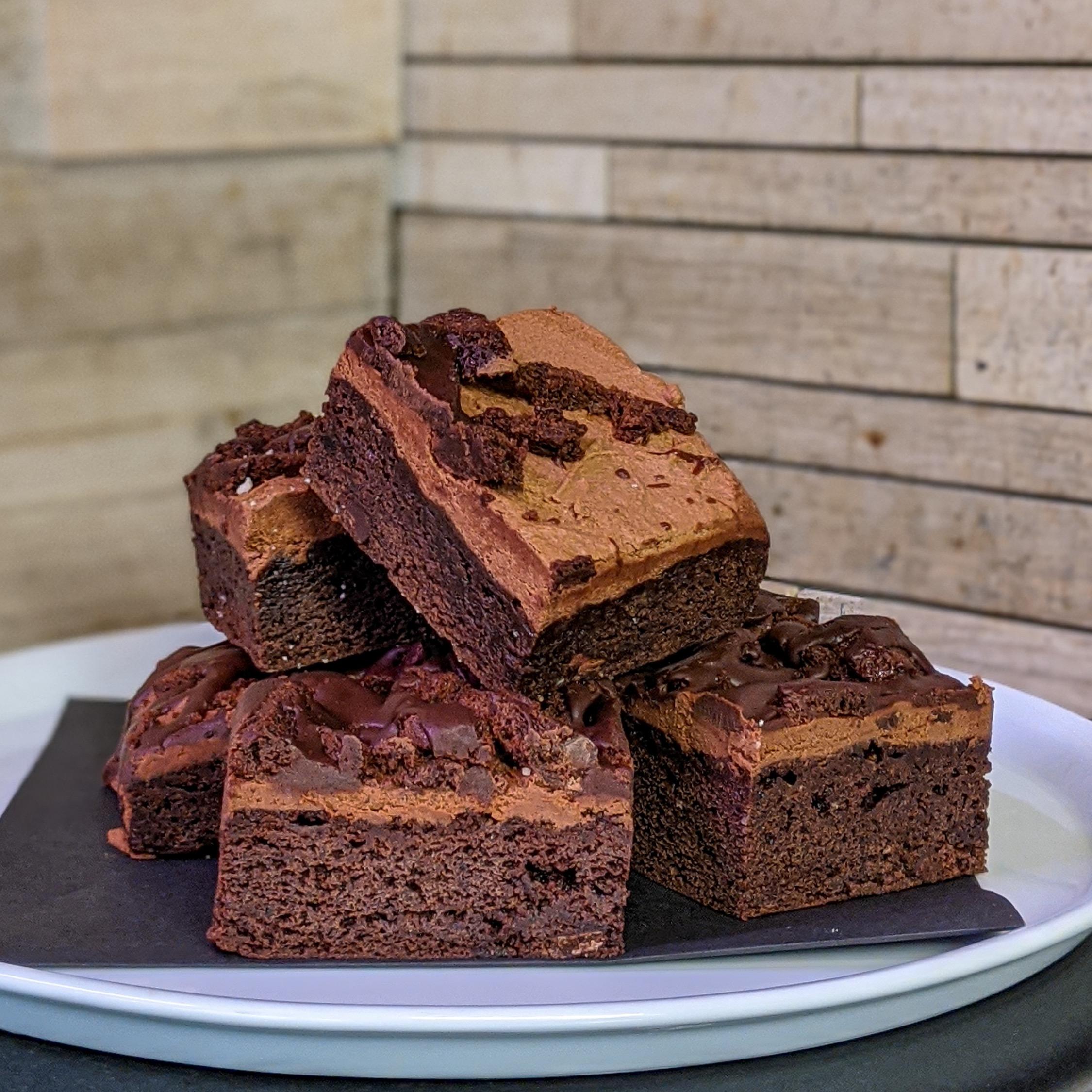 Triple Chocolate Brownie