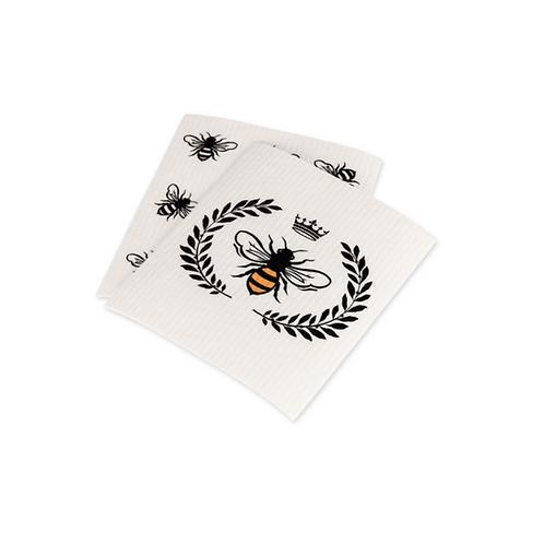 Queen Bee Swedish Dish Cloth