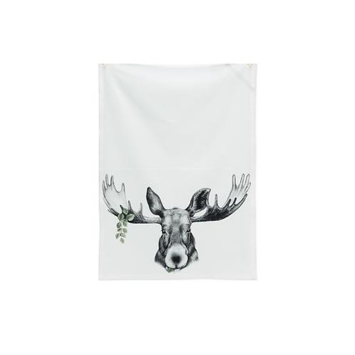 Moose King Tea Towel