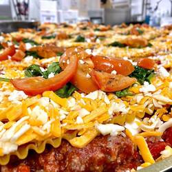 Three Cheese and Meat Lasagna