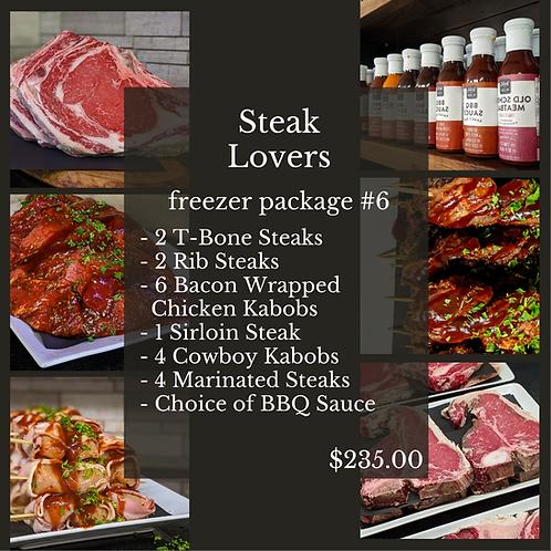 Steak Lovers Freezer Package