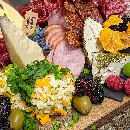 Rustic Charcuterie for 2