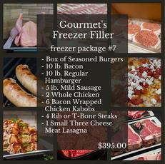 Gourmet's Freezer Filler