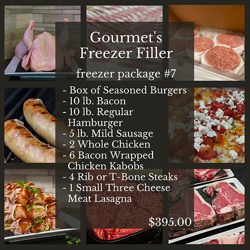 Gourmet's Freezer Filler Freezer Package