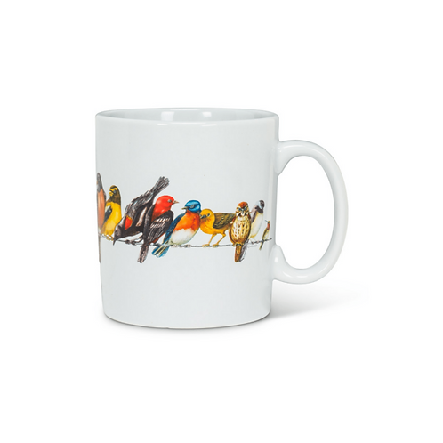 Birds on Wire Jumbo Mug
