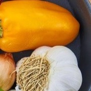 Chicken Roasted Pepper and Garlic Sausage