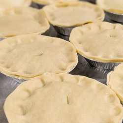 """5"""" Meat Pies Chicken, Beef, or Turkey (stack of 4)"""