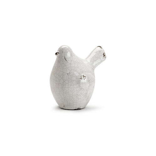 Small Plump Bird Figure