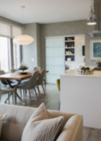 Luxury Apartment in Bethesda, Green Owl Design