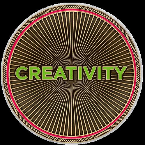 Creativity Challenge Coin