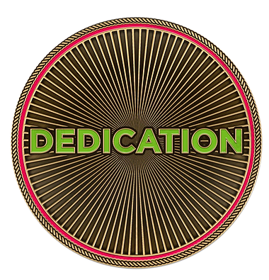 Dedication Challenge Coin
