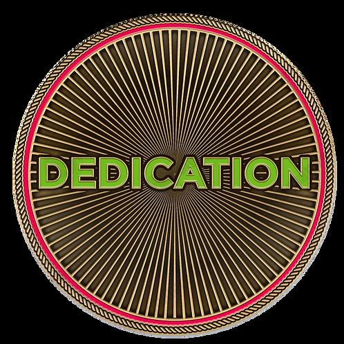 Dedication Challenge Coin