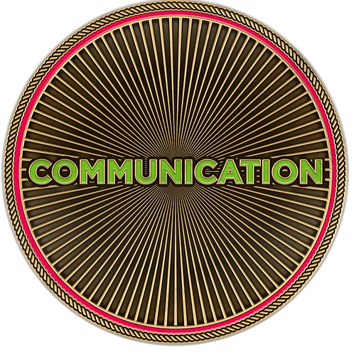 Communication Challenge Coin