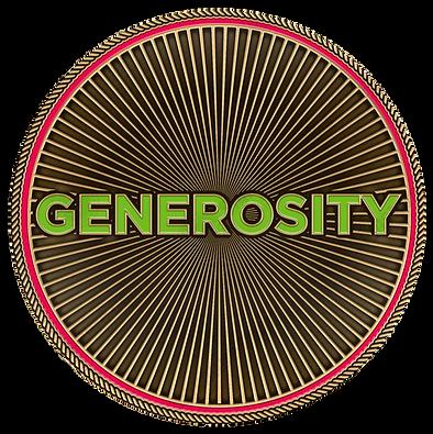 Generosity Challenge Coin