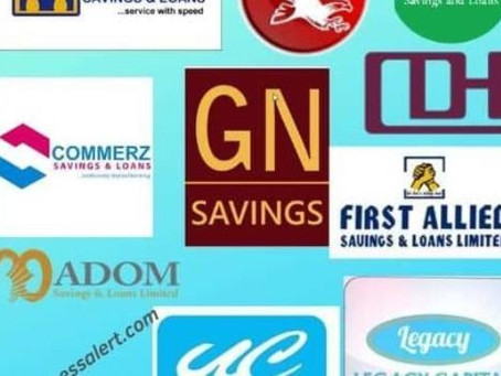 Ghana's Savings And Loans Fiasco: Identifiable Weaknesses And Themes