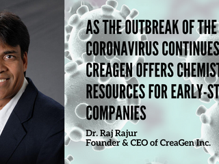 CreaGen offers CRO services to early-stage companies affected by coronavirus outbreak